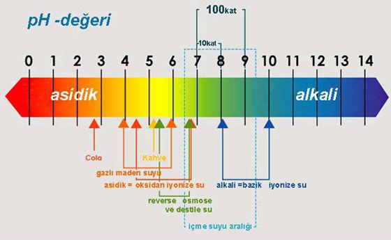 Su-Markaları-Ph-Değerleri-Alkali-Diyeti Alkali Diyeti