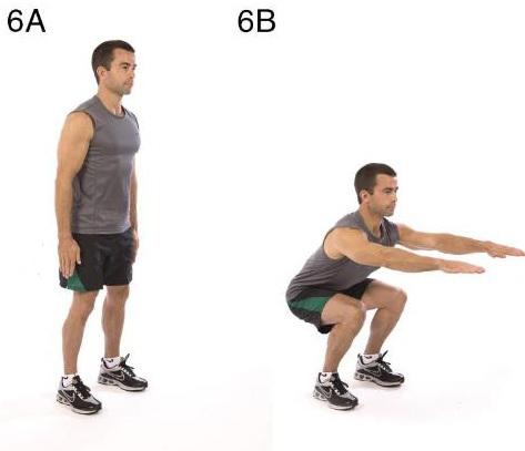 ısınma6 Spor Egzersizleri & Evde Kolay Yapılan Egzersizler