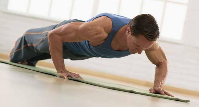 şınav-çekmek Spor Egzersizleri & Evde Kolay Yapılan Egzersizler