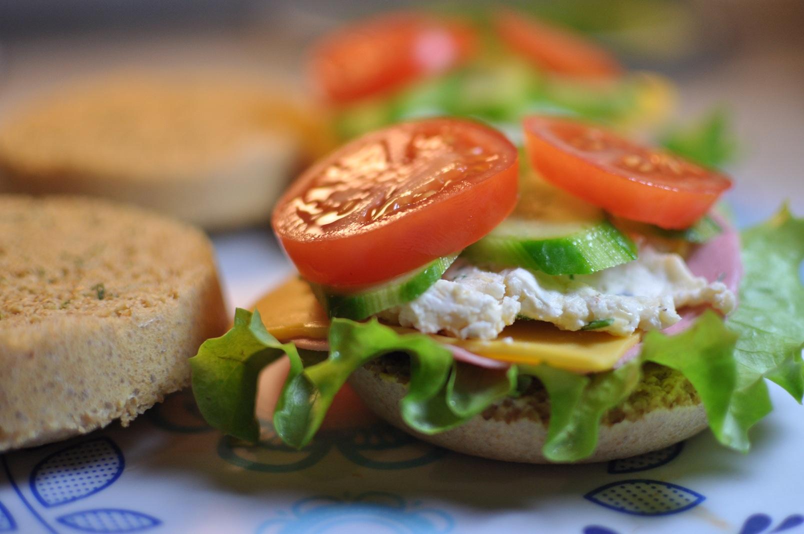 dukan-sandvic Sağlıklı Diyet Atıştırmalık Tarifleri