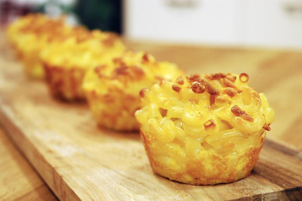 muffin-kabinda-peynirli-makarna 7 Günde 5 Kilo Aldıran Örnek Diyet Listesi