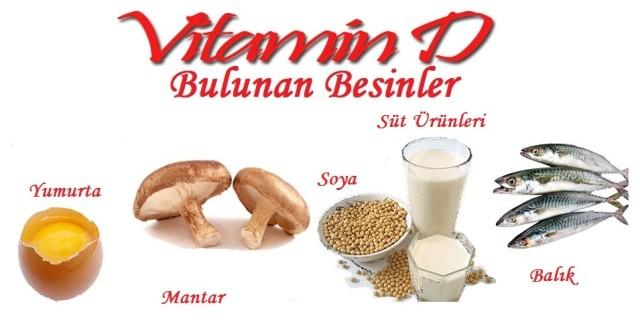 dvitaminin D Vitamini Eksikliği Sonuçları ve D vitamini Hangi Besinlerde Bulunur?