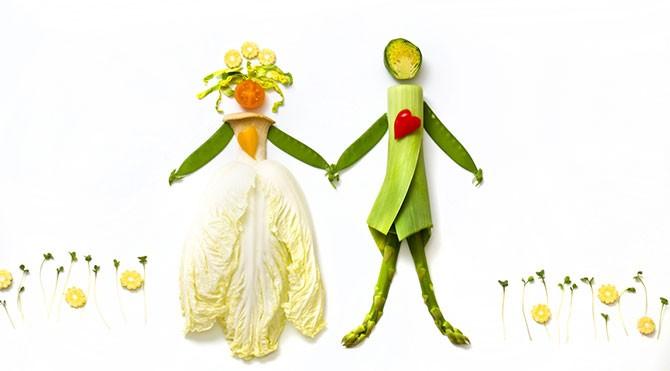 gelin-ve-damat Düğün Öncesinde Forma Girin