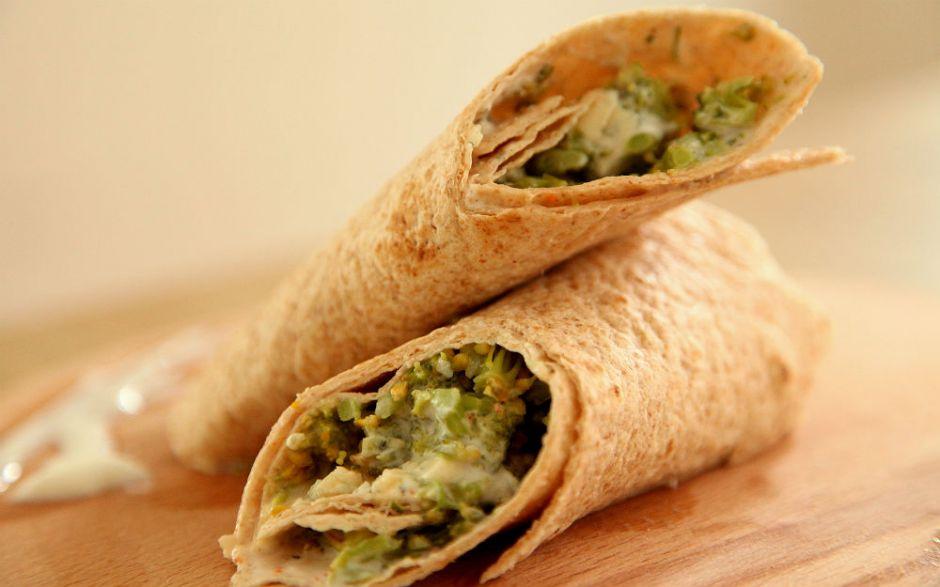 brokoli-wrap-tarifi Sağlıklı Diyet Atıştırmalık Tarifleri