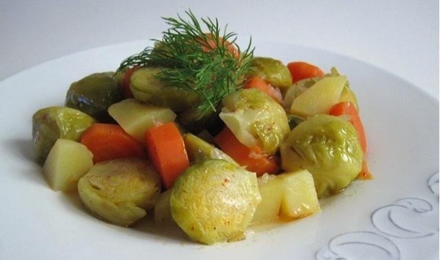 Zeytinyagli-bruksel-lahanasi-21 Lezzette ve Sağlıkta Sınır Tanımayan Sebze Yemeği Tarifleri