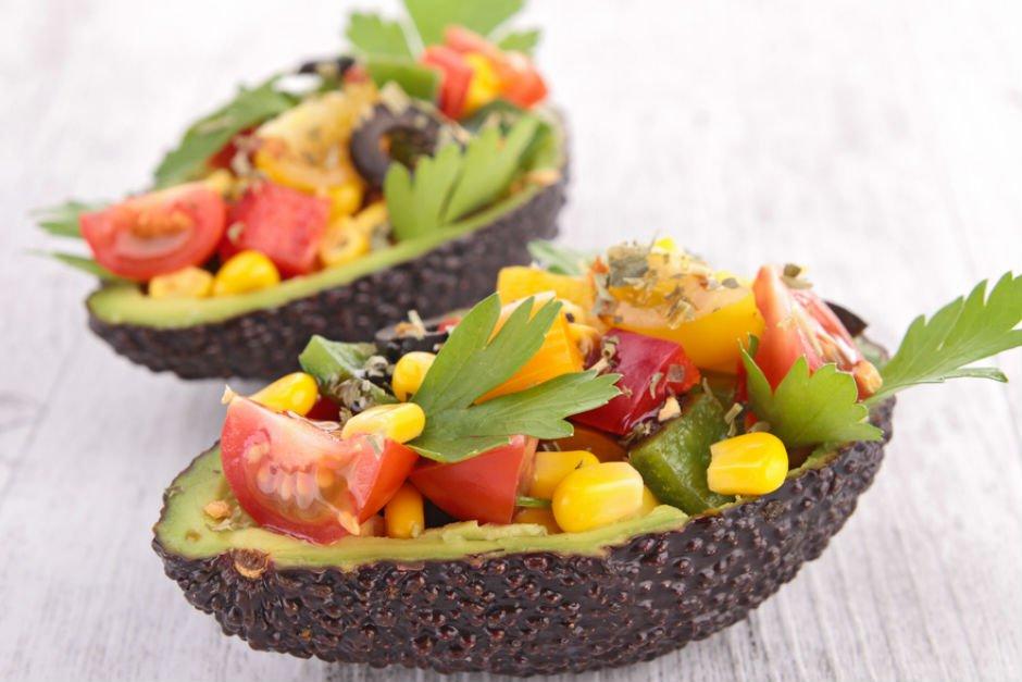 avokado-salatasi Pratik ve Kolay Yemek Tarifleri - Zamanla Yarışanlar İçin