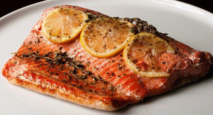 limonlu-kekikli-firinda-somon-baligi-tarifi Yağ Yakıcı Yiyecekler ve Metabolizma Hızlandırıcı Besinler