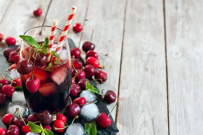 kirazlı-buzlu-çay Ramazan Ayı 19. Gün İftar Menüsü
