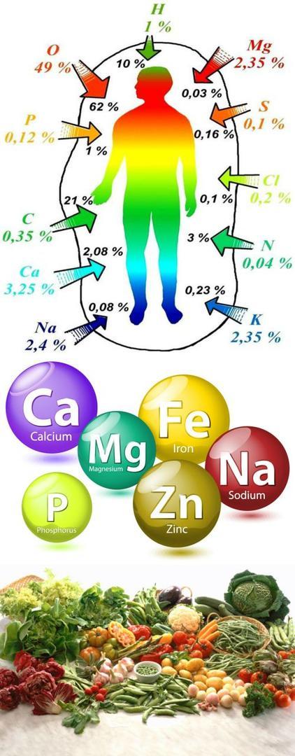 miner1 Mineraller ve Görevleri   Mineraller Hangi Besinlerde Bulunur